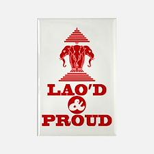 LAO'D & PROUD Magnets