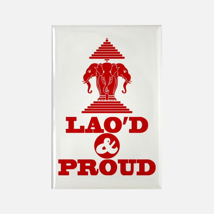 LAO'D & PROUD Magnets