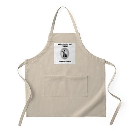 Basic Black Greyhound BBQ Apron