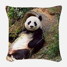 Panda 0315P Woven Throw Pillow
