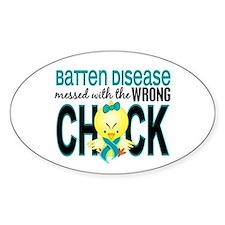 Batten Disease MessedWithWrongChick Decal