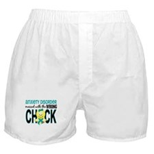 Anxiety Disorder MessedWithWrongChick Boxer Shorts