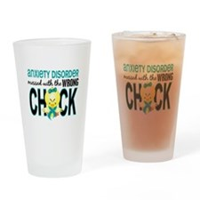 Anxiety Disorder MessedWithWrongChi Drinking Glass