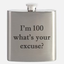 100 your excuse 1C Flask