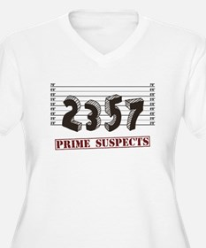 The Prime Number Suspects Plus Size T-Shirt