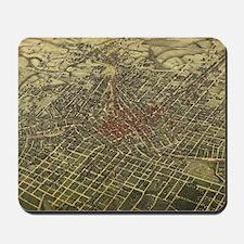 Vintage Map of Atlanta (1892) Mousepad