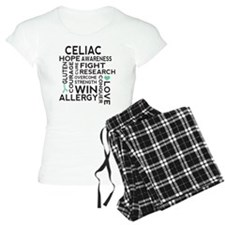Celiac Disease Ribbon Pajamas