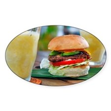 Gourmet Burger and Smoothies  Decal