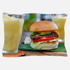 Gourmet Burger and Smoothies  Pillow Case