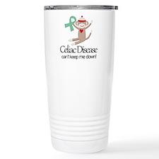 Celiac Disease Ribbon Travel Mug