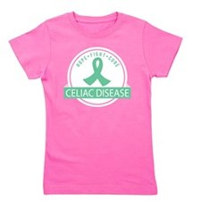 Hope Fight Cure Celiac Disease Girl's Tee
