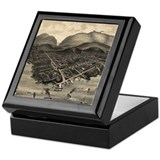 Bar harbor Square Keepsake Boxes