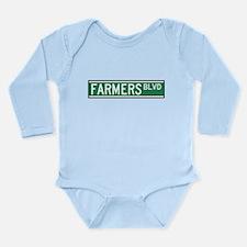 Farmers Boulevard Sign Body Suit