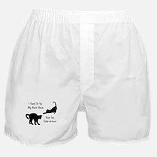 Funny Cat Boss Boxer Shorts