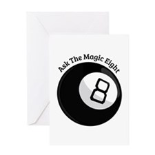 Magic Eight Greeting Cards