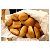 Bread Wrapped Canvas Art