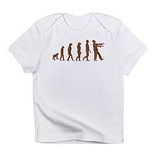 Zombie Evolution Infant T-Shirt