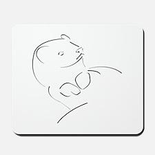 ferret01 Mousepad