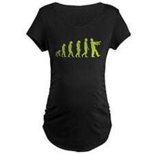 Zombie Evolution Maternity T-Shirt