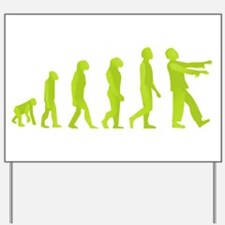 Zombie Evolution Yard Sign
