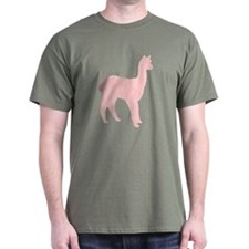 Alpaca (#2 in pink) T-Shirt