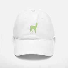 Alpaca (#2 in green) Baseball Baseball Cap