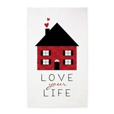 Love Your Life Area Rug