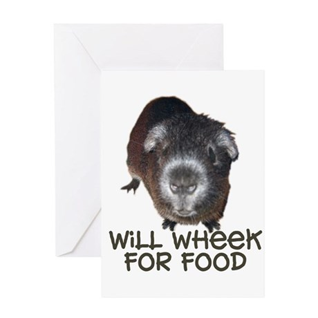Wheeker Blank Greeting Card