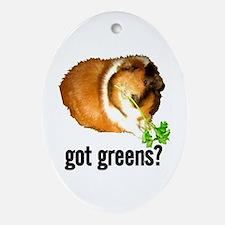 Got Greens Oval Ornament