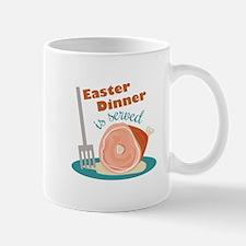 Easter Dinner Mugs