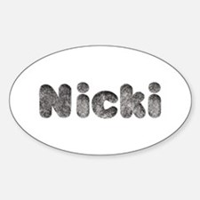 Nicki Wolf Oval Decal