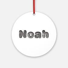 Noah Wolf Round Ornament
