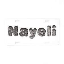 Nayeli Wolf Aluminum License Plate