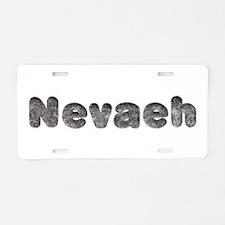 Nevaeh Wolf Aluminum License Plate