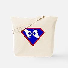 Super ASL Interpreter - Blue Tote Bag