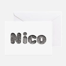 Nico Wolf Greeting Card