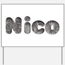 Nico Wolf Yard Sign