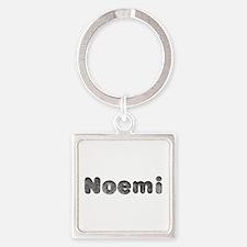 Noemi Wolf Square Keychain