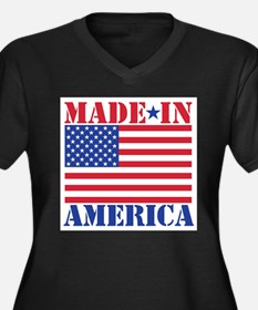 Made in Ameri Plus Size T-Shirt