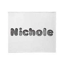 Nichole Wolf Throw Blanket