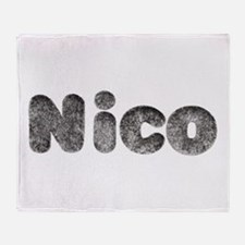 Nico Wolf Throw Blanket