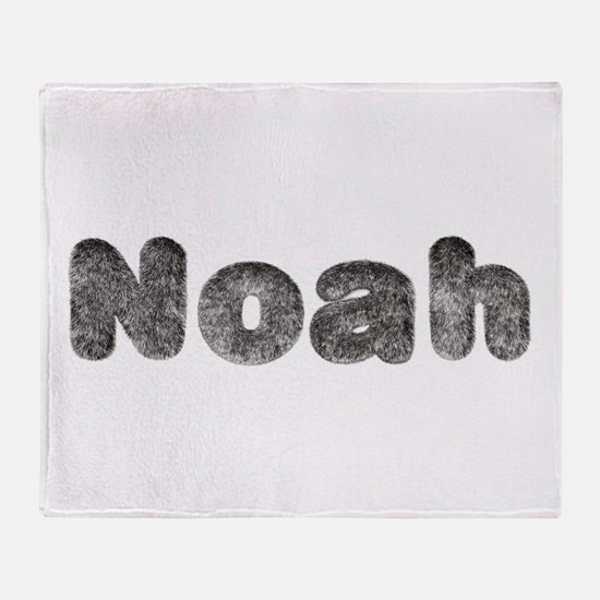 Noah Wolf Throw Blanket