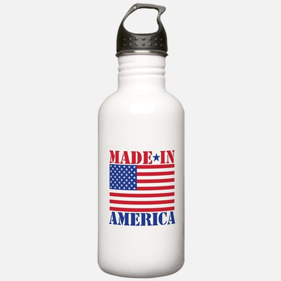 Made in America Water Bottle