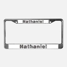 Nathaniel Wolf License Plate Frame