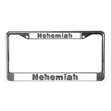 Nehemiah Wolf License Plate Frame