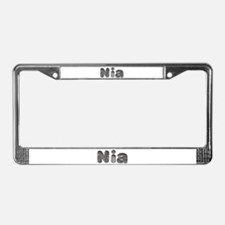 Nia Wolf License Plate Frame
