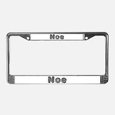 Noe Wolf License Plate Frame