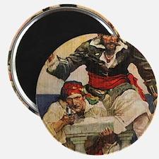 Blackbeard the Buccanneer  Magnet
