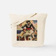 Blackbeard the Buccanneer  Tote Bag