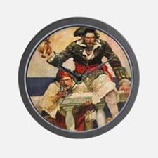 Blackbeard the Buccanneer  Wall Clock